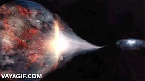 Enlace a Así se vería desde el espacio si la Tierra fuera tragada por un agujero negro