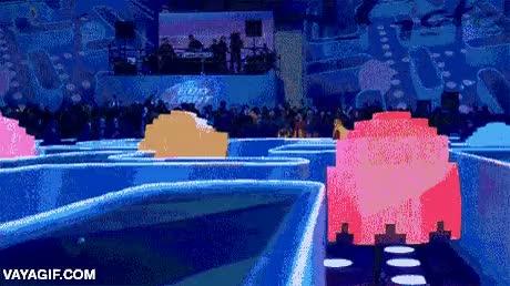 Enlace a ¡Yo también quiero jugar al Pac-Man en la vida real!