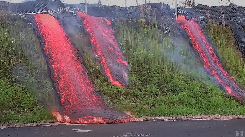 Enlace a Esto es lo que pasa cuando se desencadena la lava