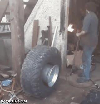 Enlace a La mejor manera de inflar una rueda