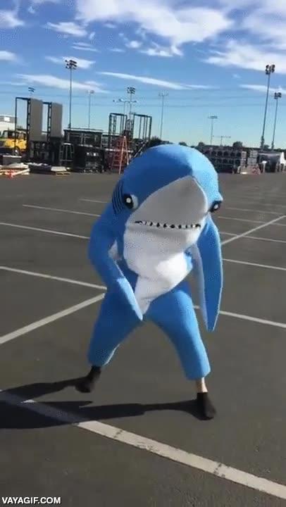 Enlace a El tiburón de la izquierda de la Super Bowl demostrando que sí se sabía el baile