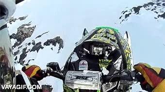 Enlace a Espera, ¿cómo que las motos de nieve no vuelan? ¡Haberme avisado antes!