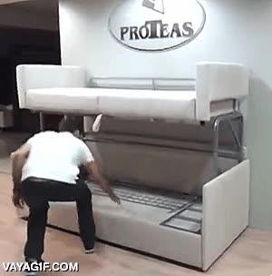 Enlace a ¿Un sofá cama? Eso es para principiantes