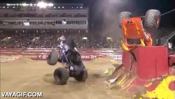 Enlace a La magia de los monster trucks