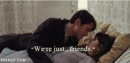 Enlace a Cuando alguien dice la típica frase de ''Solo somos amigos'' ya sabemos lo que hay