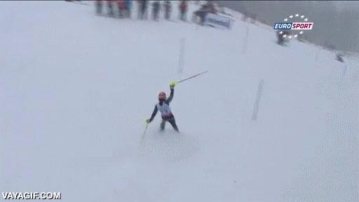 Enlace a ¿Esquiar sin esquís es posible? Preguntadle a este tío