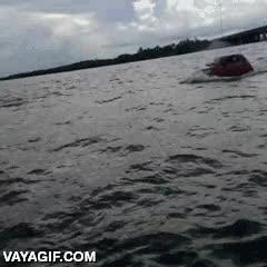 Enlace a No sé si el mar está muy bajo o ya están comercializando los primeros coches anfibios