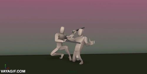 Enlace a Una escena de lucha de Jackie Chan recreada en 3D