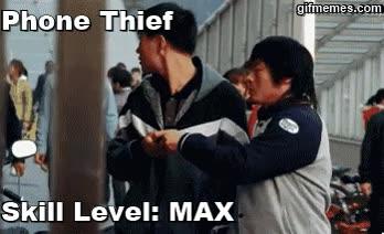 Enlace a Ladrón de móviles, nivel maestro