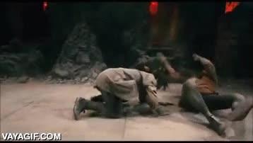 Enlace a La temible patada del escorpión, anda que se flipan poco en las pelis de artes marciales