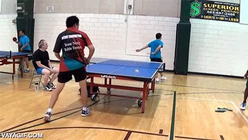Enlace a El golpe maestro del ping pong