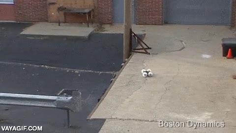Enlace a Un robot capaz de saltar a la azotea de un edificio de más de 10 metros