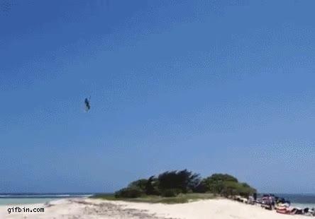 Enlace a Vaya, una isla en medio que me impide seguir haciendo kite-surf, no problem
