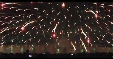 Vaya Gif Impresionante Demostracion De Fuegos Artificiales Desde