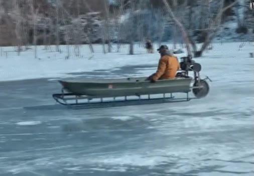 Enlace a ¿Que no puedo pescar porque el lago está helado?