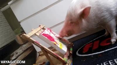 Enlace a ¡Saca al artista que llevas dentro! Pero es que soy un cerdo... ¡No importa, tú prueba!