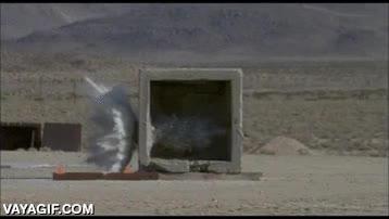 Enlace a Proyectil de más de 20 kilos lanzado a velocidad supersónica capaz de atravesar hormigón reforzado
