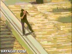 Enlace a Podría tomarme mi birra tranquilamente en una terraza, pero grindando una rampa con mi skate también