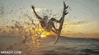 Enlace a ¿Recordáis el efecto matrix en la retransmisión de las últimas olimpiadas?Pues ahora le toca al surf
