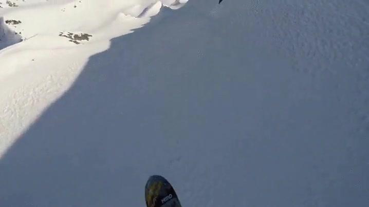 Enlace a Snowboarding en Alaska, un sueño al alcance de unos pocos privilegiados