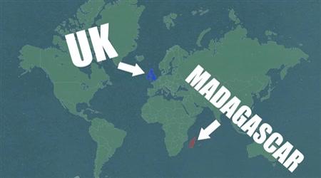 Enlace a No te creas los mapas del mundo, no son reales, atención a esto