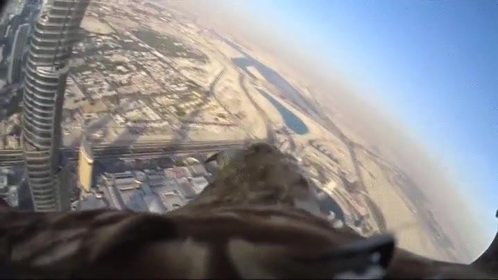 Enlace a Así es Dubai a vista de águila, literalmente