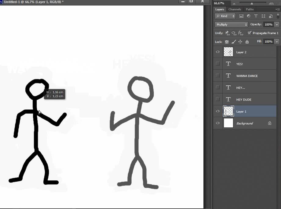 Enlace a Y quién diga que no soy un maestro de la animación y el manejo del Photoshop es un envidioso