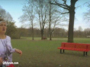 Enlace a Si sales a correr por el parque, mejor no te cruces con Jesucristo