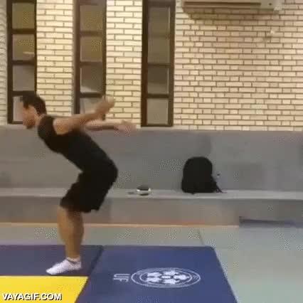 Enlace a Probablemente, el back flip más increíble que hayas visto