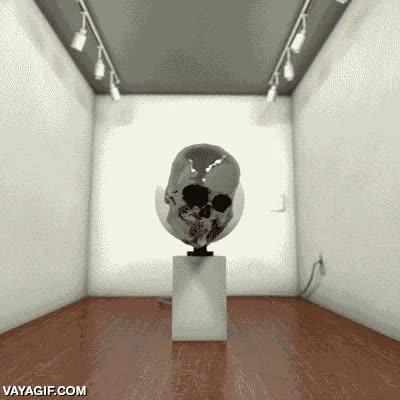 Enlace a La extraña y curiosa ilusión del cráneo