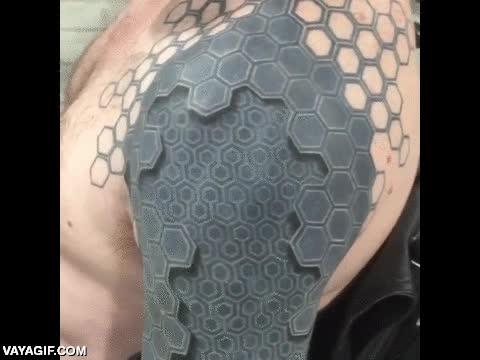 Enlace a Tatuaje totalmente en 3D