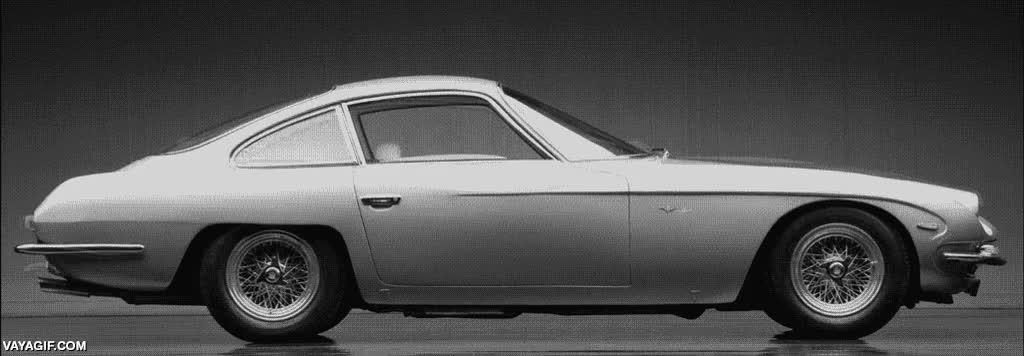 Enlace a Todos los modelos de Lamborghini en un solo gif