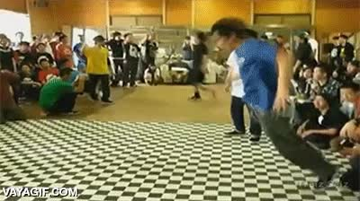Enlace a ¿Así que crees que puedes ganarme en una batalla de breakdance?