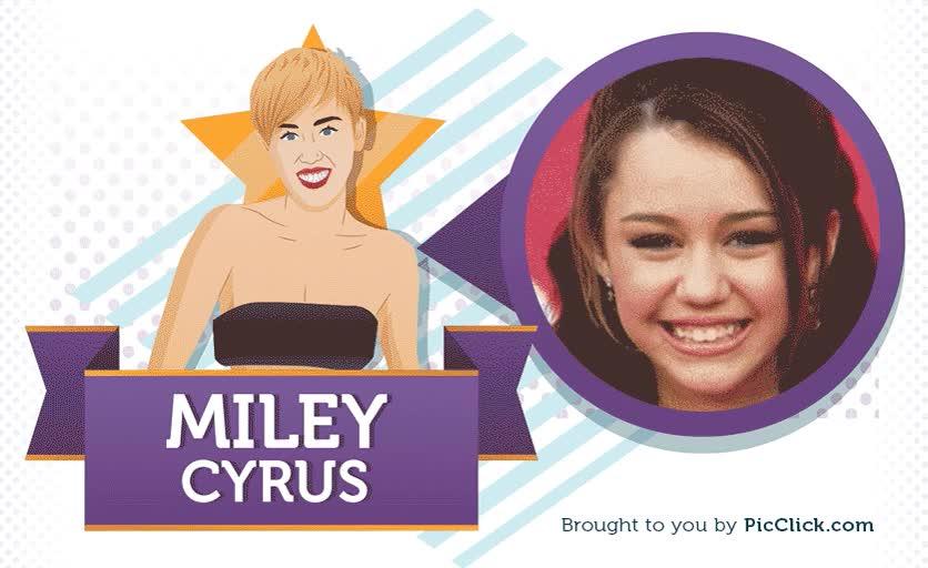 Enlace a De niña Disney a estrella del pop, así ha cambiado Miley Cyrus