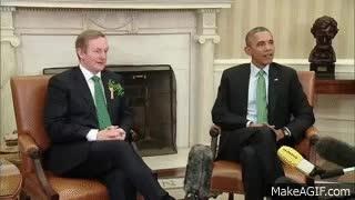 Enlace a El primer ministro irlandés no entiende que aquí quién decide dar la mano o no es Obama, nadie más