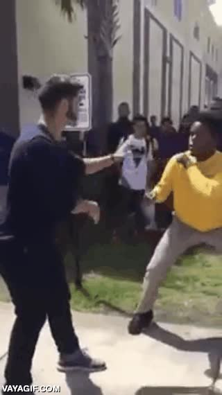 Enlace a ¡Atención todos, hay pelea en la puerta del cole! ¡Pelea, pelea!