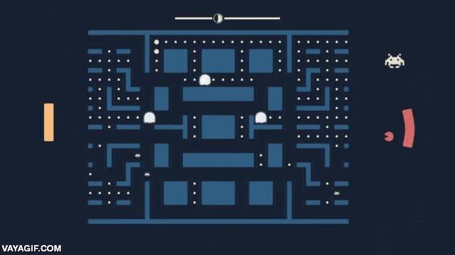 Enlace a Esto es el Pacapong, la combinación de Pac-man, Pong y Space Invaders, increíble