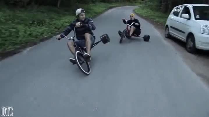 Enlace a ¿Quién dice que los triciclos son solo para niños pequeños?