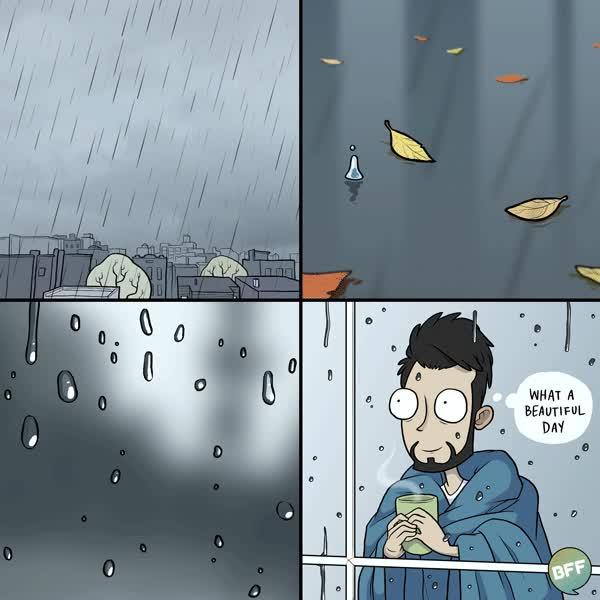 Enlace a Me encantan los días de lluvia