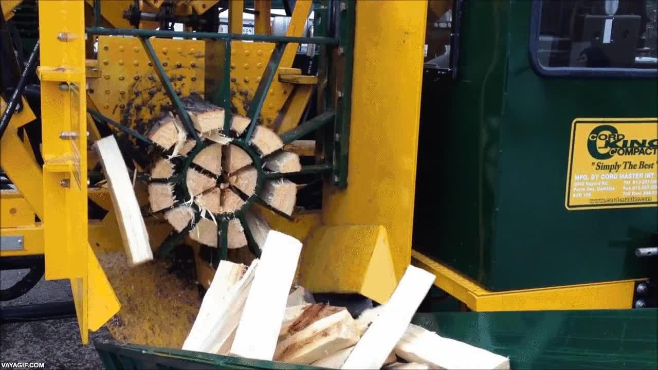 Enlace a Partir troncos nunca había sido tan fácil y rápido