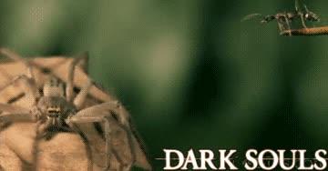 Enlace a La sensación al jugar el videojuego Dark Souls es una cosa más o menos así