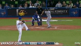 Enlace a El jugador de baseball volador