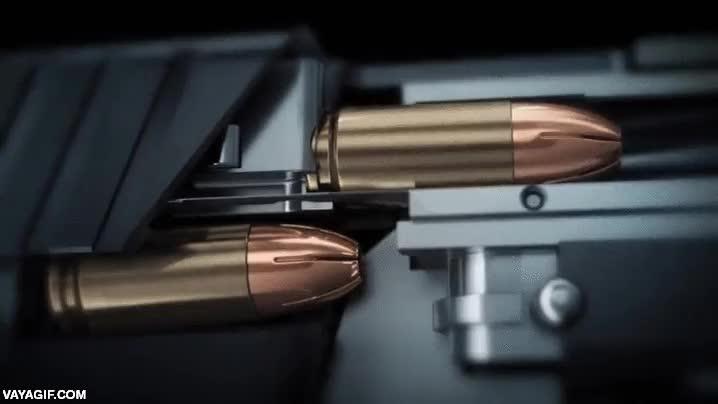 Enlace a Animación en alta definición del proceso de disparo de una bala