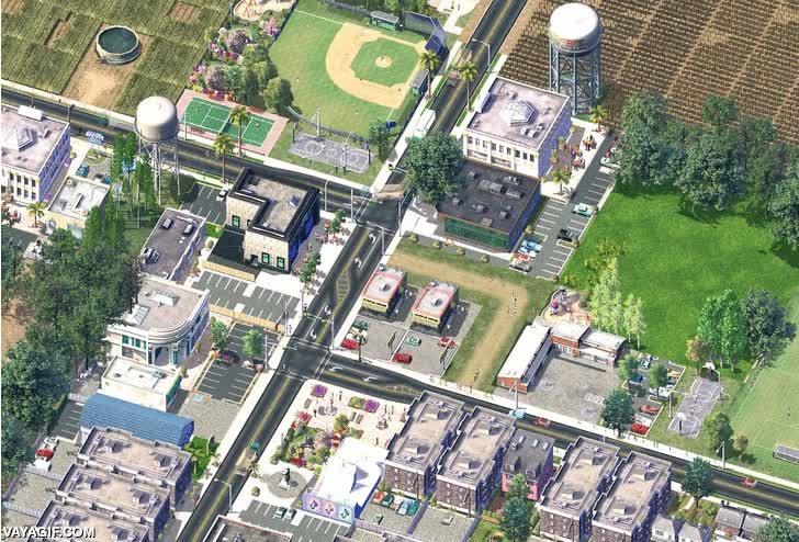 Enlace a SimCity 4 puede ser un juego precioso visto en timelapse