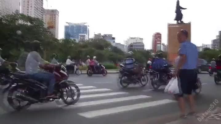 Enlace a Cruce de carretera en Vietnam, nueva modalidad de los próximos X-Games