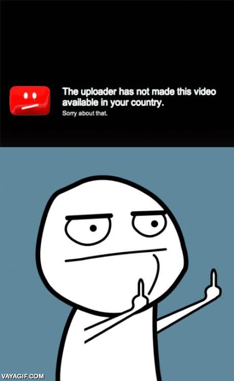 Enlace a Cuando un vídeo está bloqueado en tu país