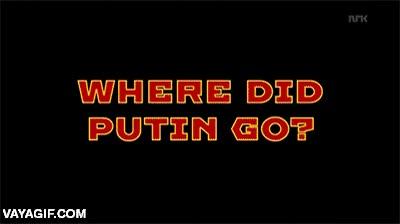 Enlace a El típico día normal de Vladimir Putin