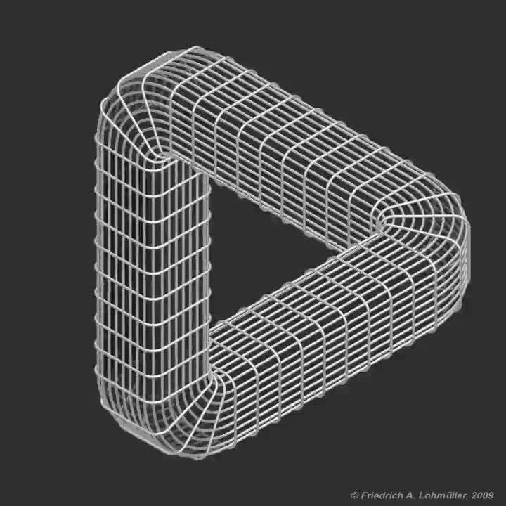Enlace a Una golosina geométrica perpetua para tus ojos