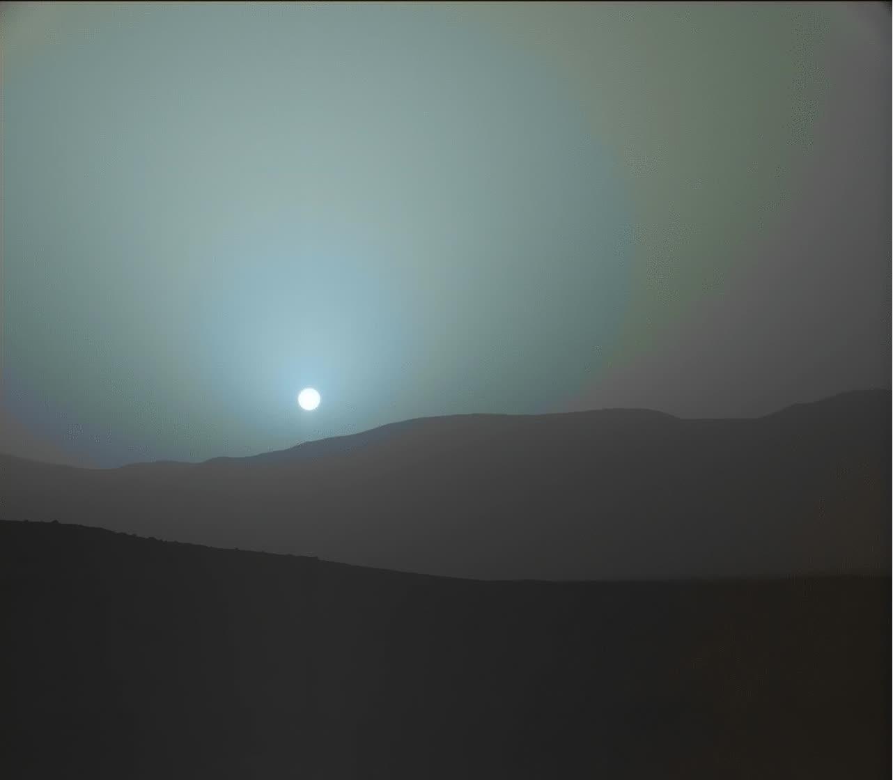 Enlace a Así se ve la puesta de sol desde Marte