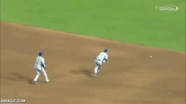 Enlace a Estos jugadores de baseball sí que están sincronizados
